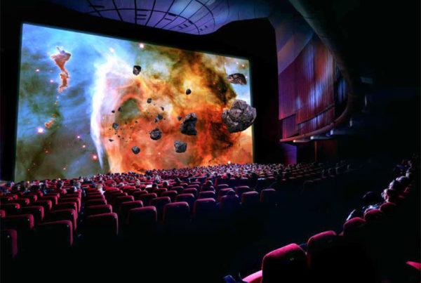 Ecran cinéma led