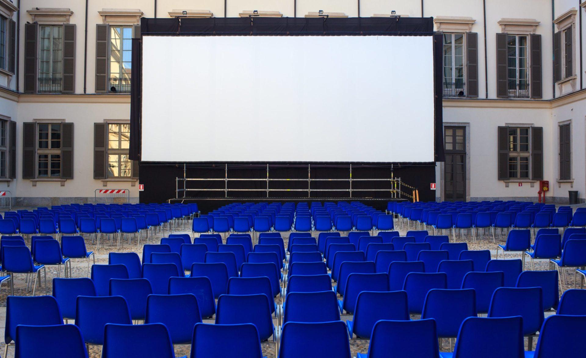 écran géant led cinéma plein air