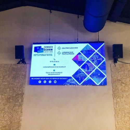 vente écran géant led intérieur